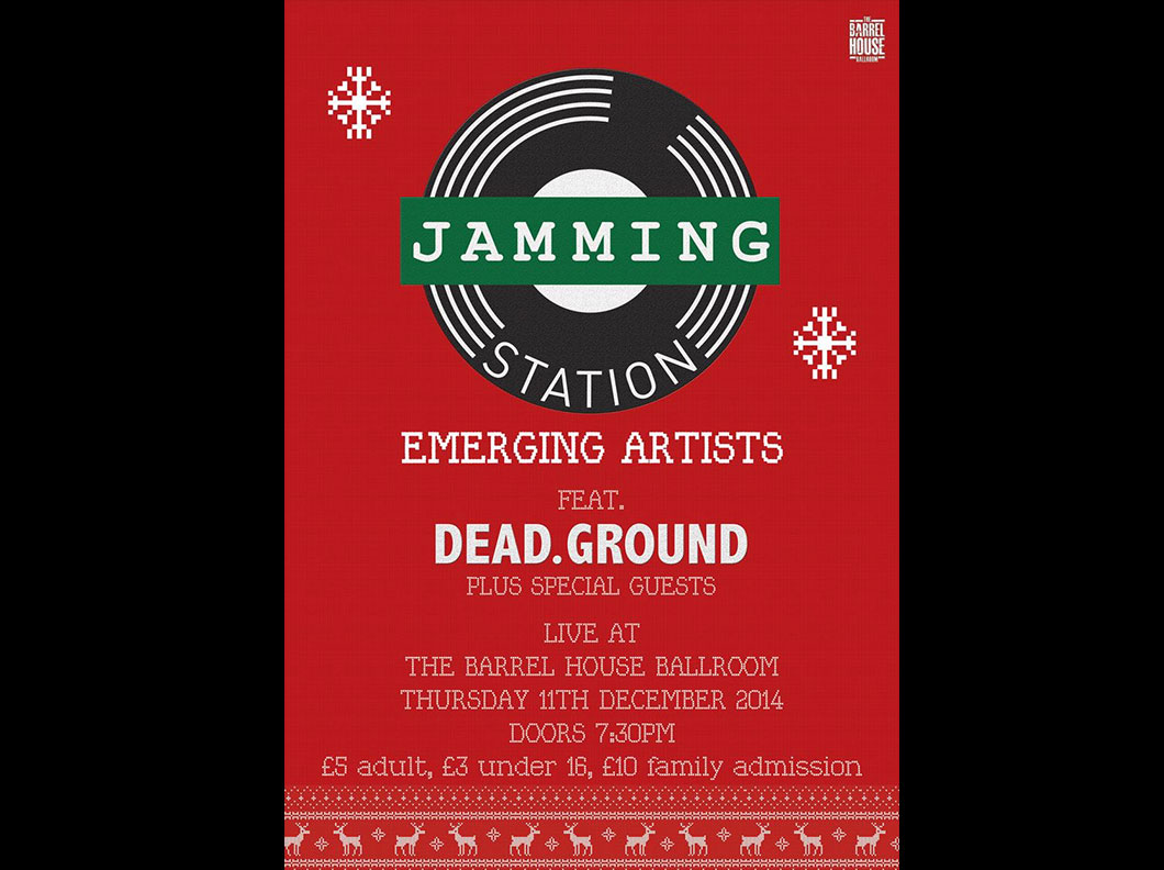 Jamming Station - Emerging Artists Poster